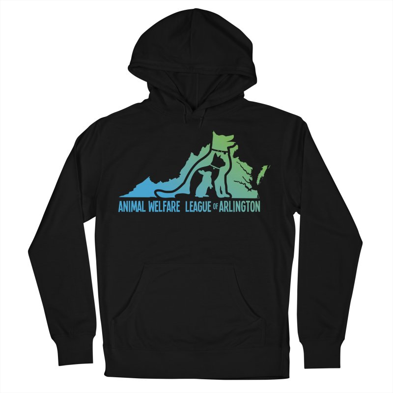 AWLA Virginia State - COLOR Men's French Terry Pullover Hoody by Animal Welfare League of Arlington Shop