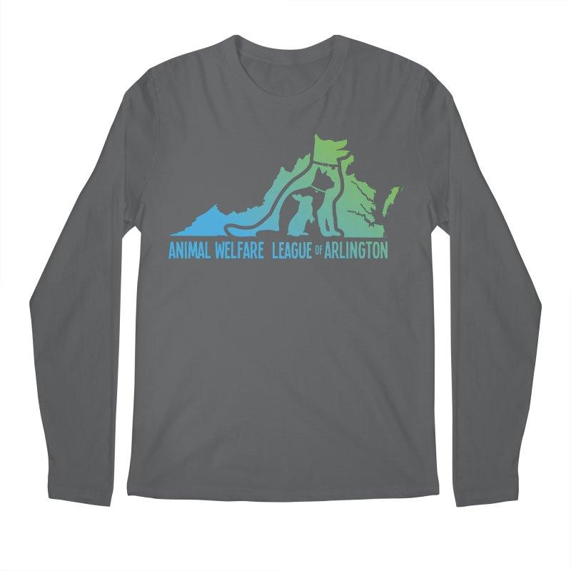 AWLA Virginia State - COLOR Men's Longsleeve T-Shirt by Animal Welfare League of Arlington Shop