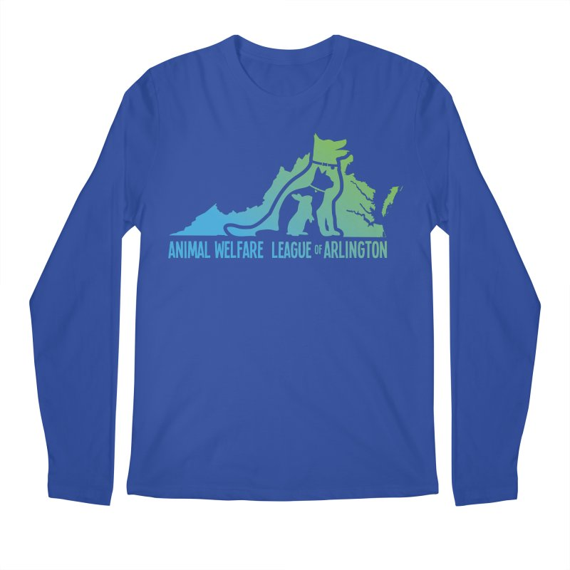 AWLA Virginia State - COLOR Men's Regular Longsleeve T-Shirt by Animal Welfare League of Arlington Shop