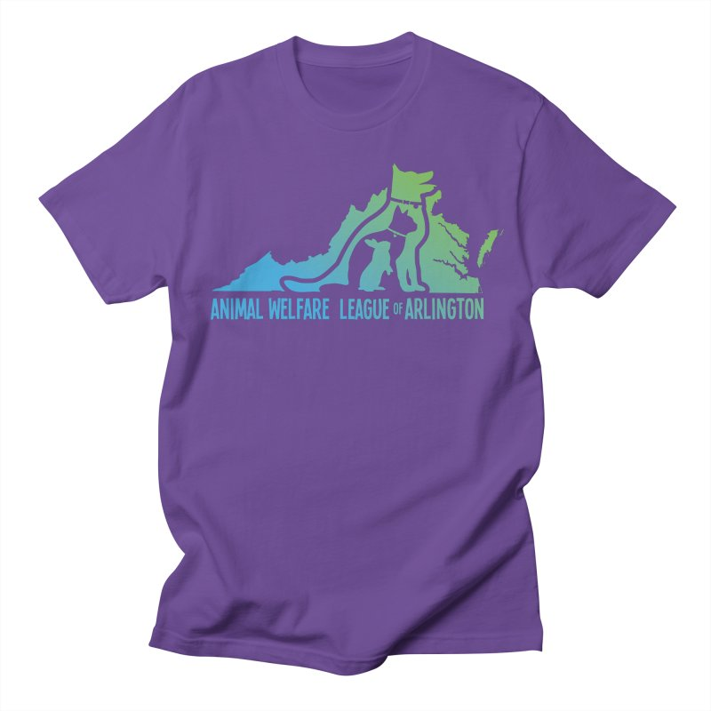 AWLA Virginia State - COLOR Women's Regular Unisex T-Shirt by Animal Welfare League of Arlington Shop