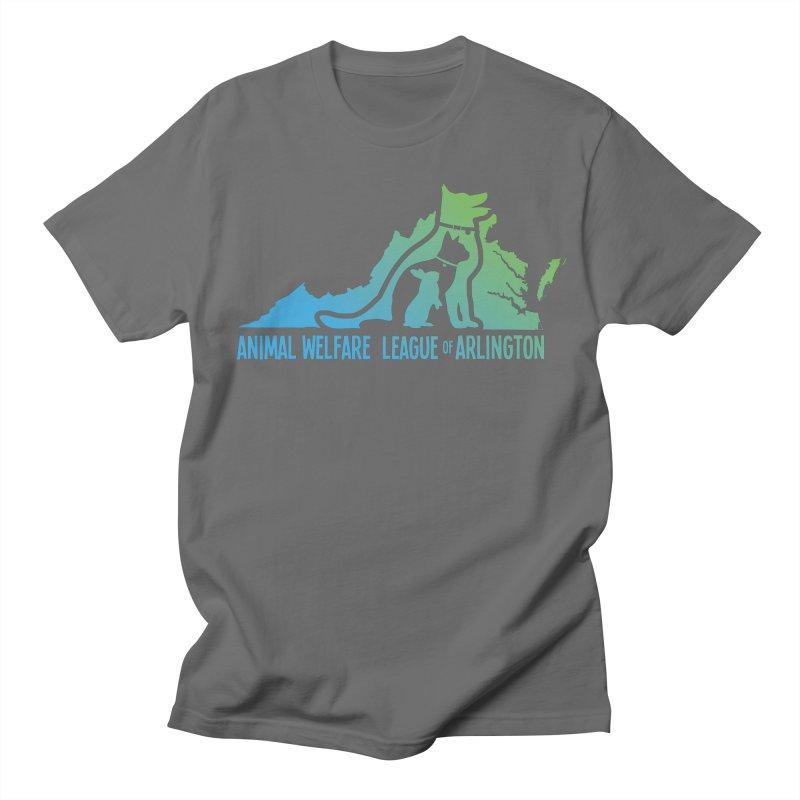AWLA Virginia State - COLOR Men's T-Shirt by Animal Welfare League of Arlington Shop