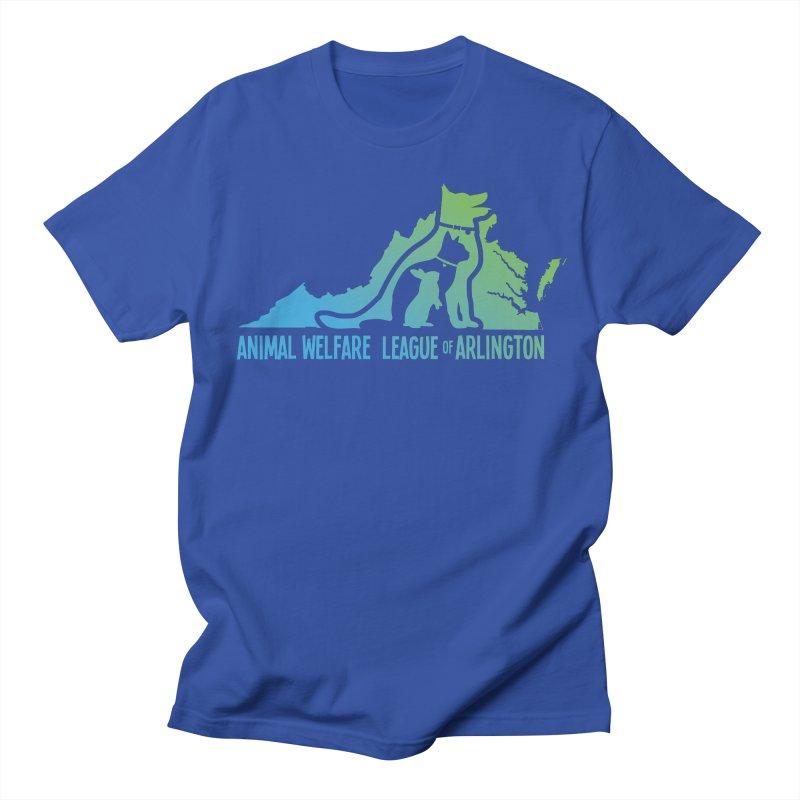 AWLA Virginia State - COLOR Men's Regular T-Shirt by Animal Welfare League of Arlington Shop