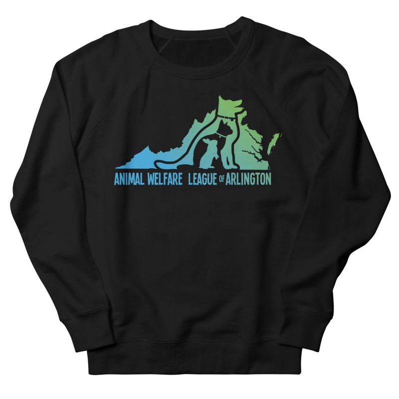 AWLA Virginia State - COLOR Women's French Terry Sweatshirt by Animal Welfare League of Arlington Shop