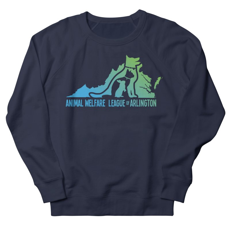 AWLA Virginia State - COLOR Women's French Terry Sweatshirt by Animal Welfare League of Arlington Shop