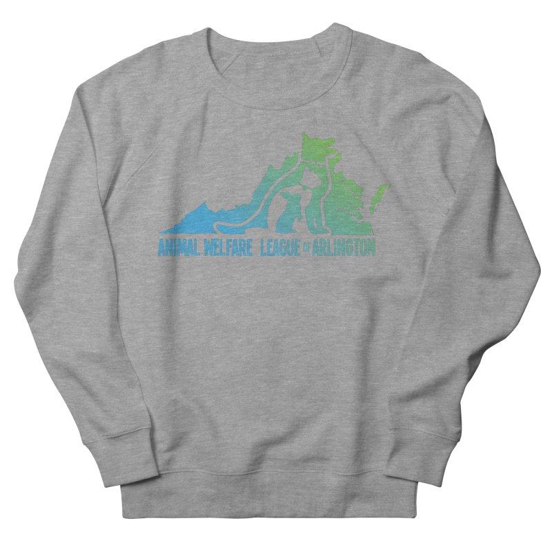 AWLA Virginia State - COLOR Men's French Terry Sweatshirt by Animal Welfare League of Arlington Shop