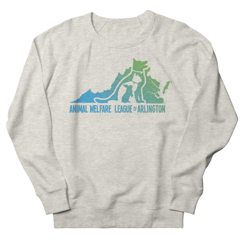 AWLA Virginia State - COLOR Men's French Terry Sweatshirt by Animal Welfare League of Arlington Shop