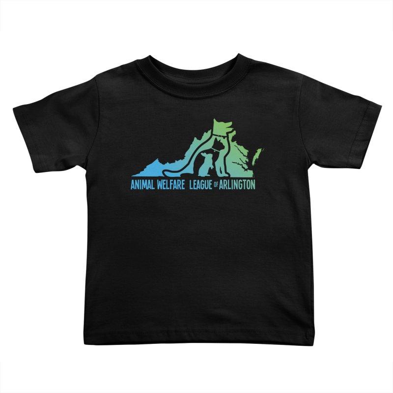 AWLA Virginia State - COLOR Kids Toddler T-Shirt by Animal Welfare League of Arlington Shop