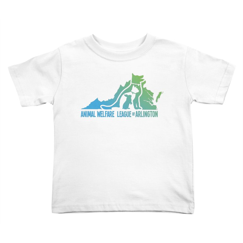 AWLA Virginia State - COLOR Kids Toddler T-Shirt by Animal Welfare League of Arlington Shop