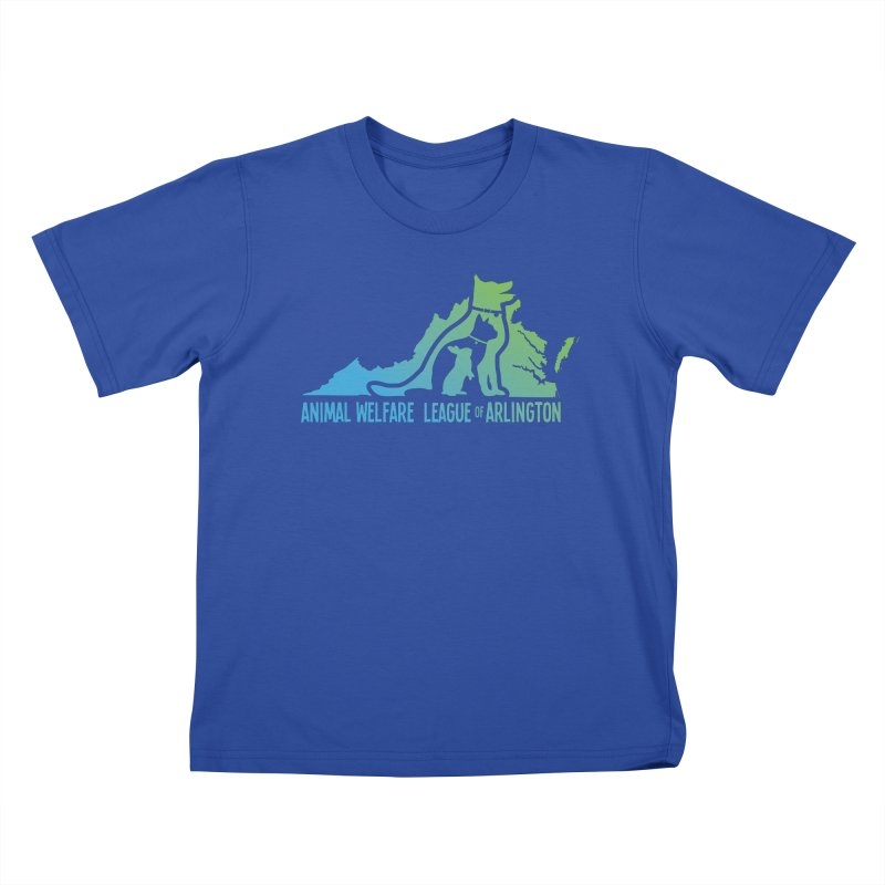AWLA Virginia State - COLOR Kids T-Shirt by Animal Welfare League of Arlington Shop