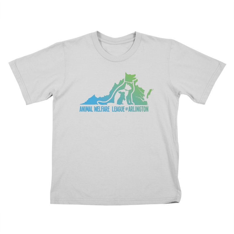 AWLA Virginia State - COLOR Kids T-Shirt by Animal Welfare League of Arlington Shop
