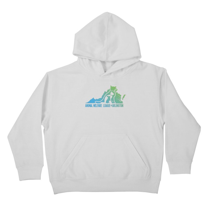 AWLA Virginia State - COLOR Kids Pullover Hoody by Animal Welfare League of Arlington Shop