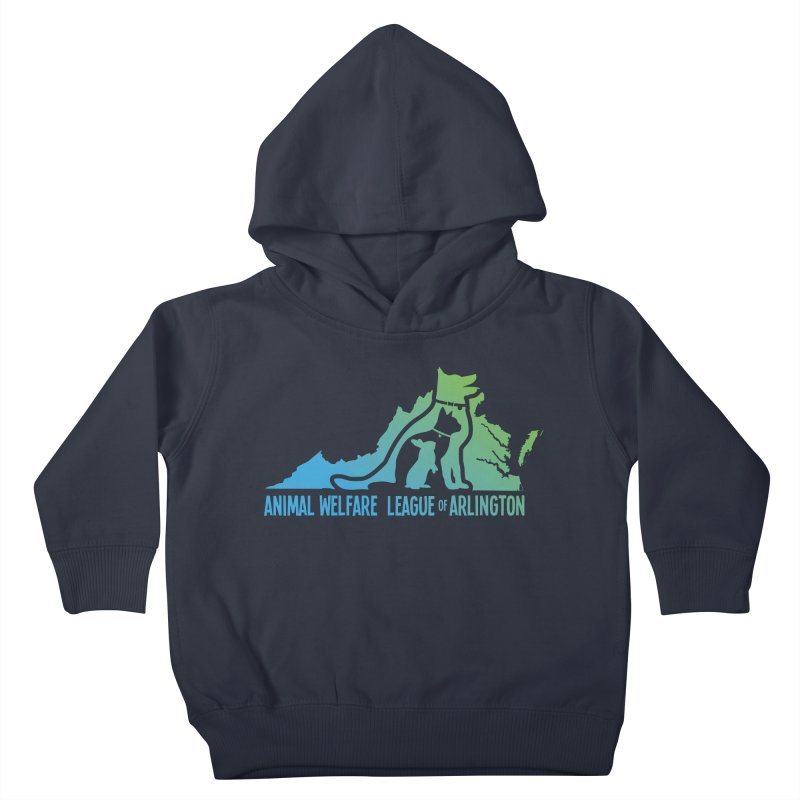 AWLA Virginia State - COLOR Kids Toddler Pullover Hoody by Animal Welfare League of Arlington Shop
