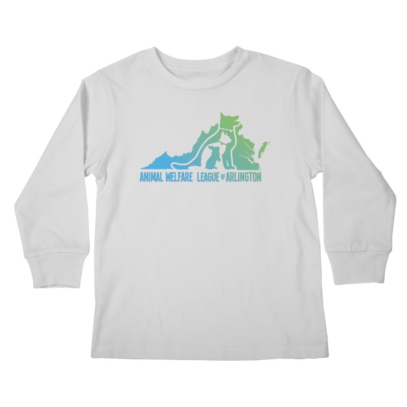 AWLA Virginia State - COLOR Kids Longsleeve T-Shirt by Animal Welfare League of Arlington Shop