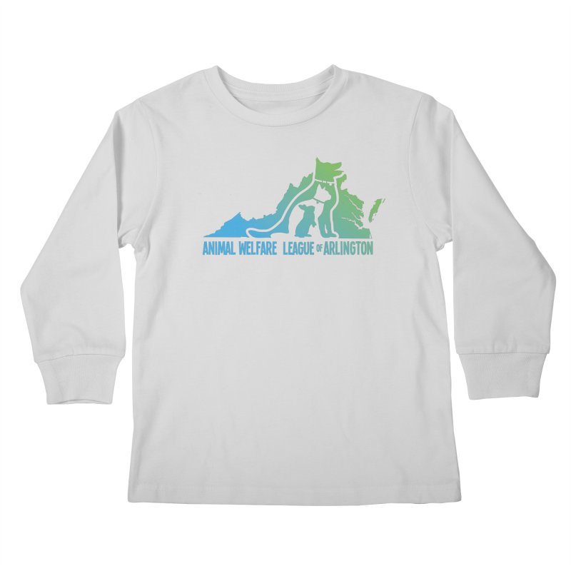 AWLA Virginia State - COLOR Kids Longsleeve T-Shirt by Animal Welfare League of Arlington Shop