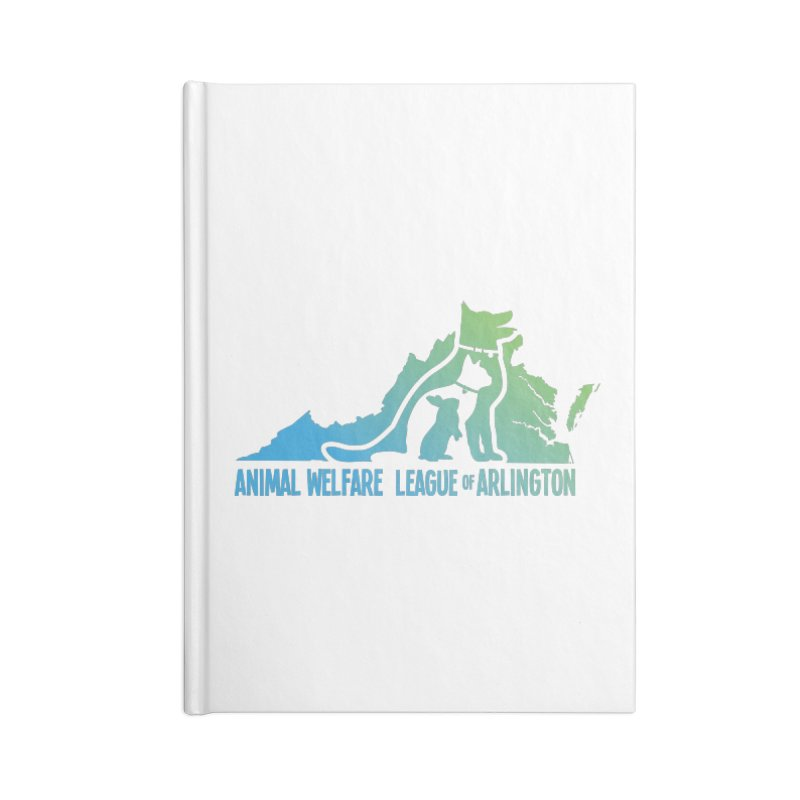 AWLA Virginia State - COLOR Accessories Blank Journal Notebook by Animal Welfare League of Arlington Shop
