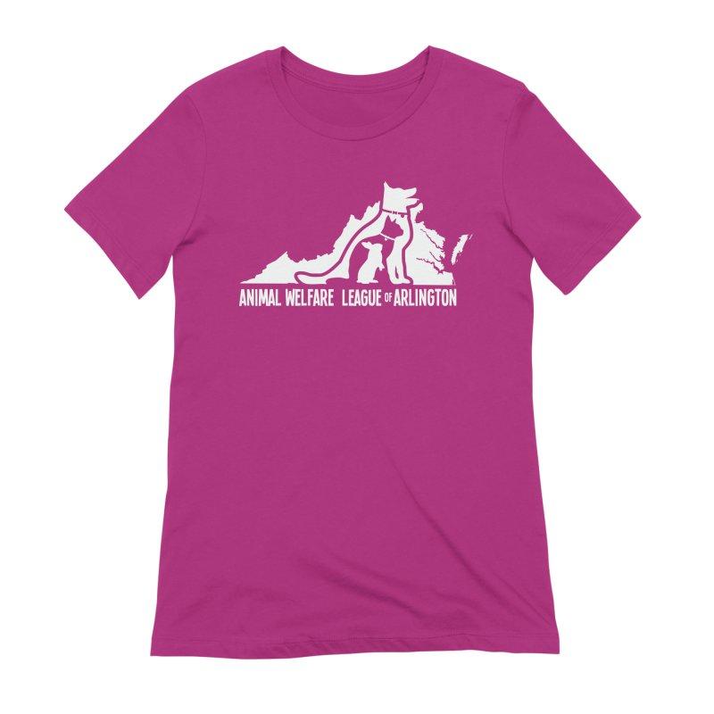 AWLA Virginia State - WHITE Women's Extra Soft T-Shirt by Animal Welfare League of Arlington Shop