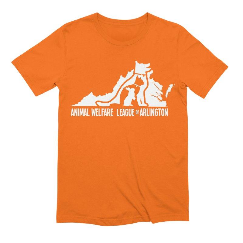 AWLA Virginia State - WHITE Men's Extra Soft T-Shirt by Animal Welfare League of Arlington Shop