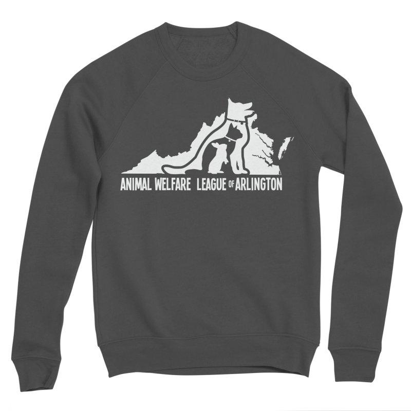 AWLA Virginia State - WHITE Women's Sponge Fleece Sweatshirt by Animal Welfare League of Arlington Shop