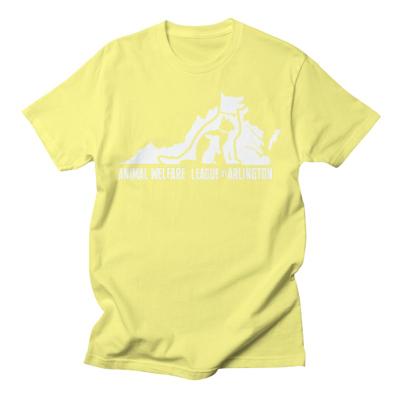 AWLA Virginia State - WHITE Women's Regular Unisex T-Shirt by Animal Welfare League of Arlington Shop