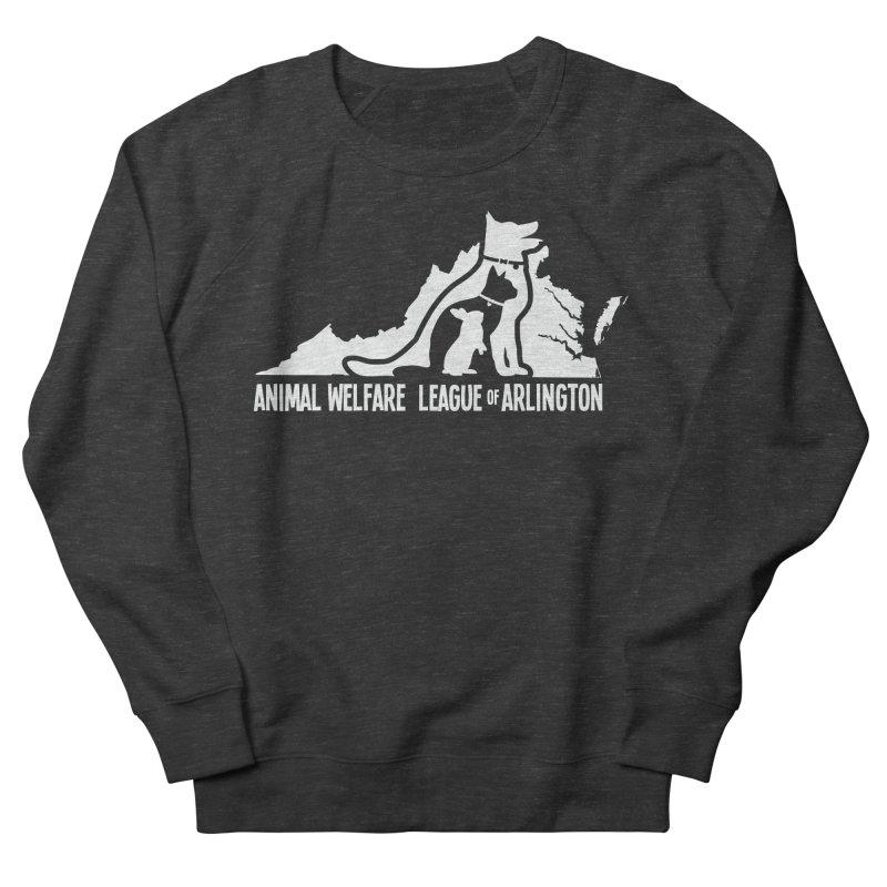 AWLA Virginia State - WHITE Women's French Terry Sweatshirt by Animal Welfare League of Arlington Shop