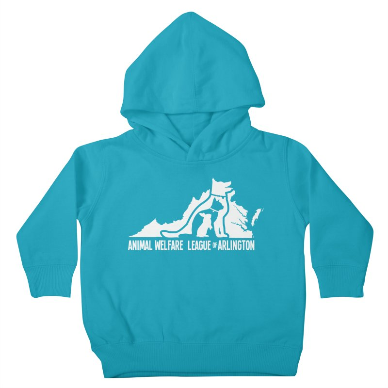 AWLA Virginia State - WHITE Kids Toddler Pullover Hoody by Animal Welfare League of Arlington Shop