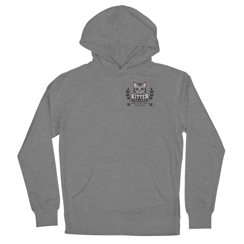 Kitten College - Small Logo & Accessories Women's Pullover Hoody by Animal Welfare League of Arlington Shop