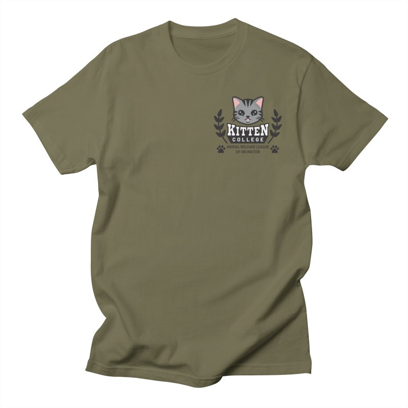 Kitten College - Small Logo & Accessories Women's T-Shirt by Animal Welfare League of Arlington Shop