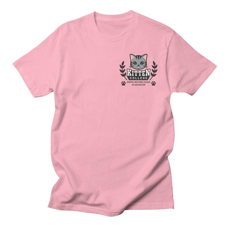 Kitten College - Small Logo & Accessories Women's Regular Unisex T-Shirt by Animal Welfare League of Arlington Shop