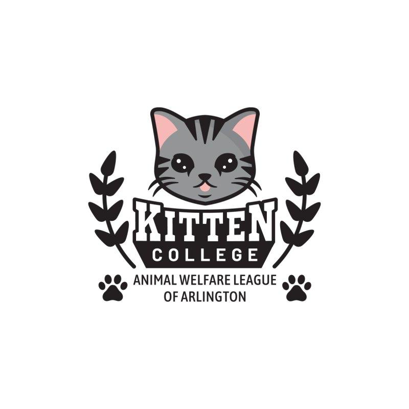 Kitten College - Large Logo Men's Pullover Hoody by Animal Welfare League of Arlington Shop