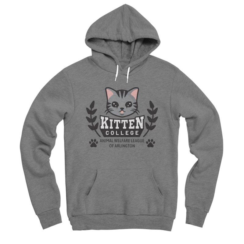 Kitten College - Large Logo Women's Sponge Fleece Pullover Hoody by Animal Welfare League of Arlington Shop