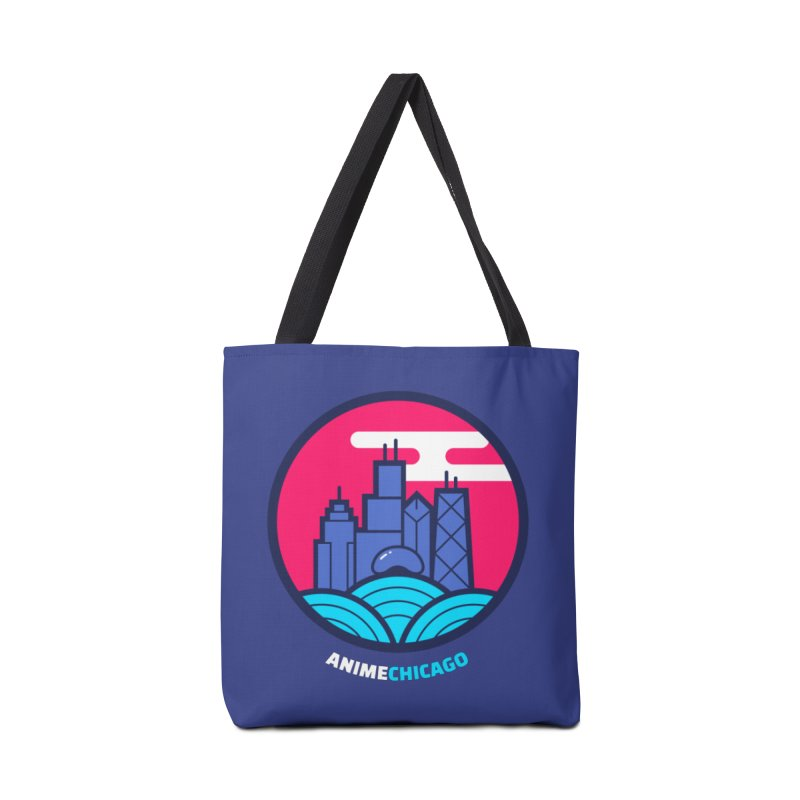 AnimeChicago Crest Accessories Tote Bag Bag by AnimeChicago Store