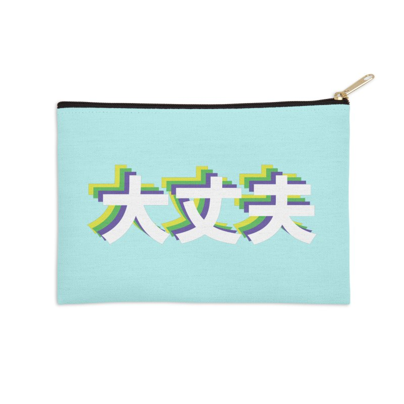 Daijoubu Accessories Zip Pouch by AnimeChicago Store