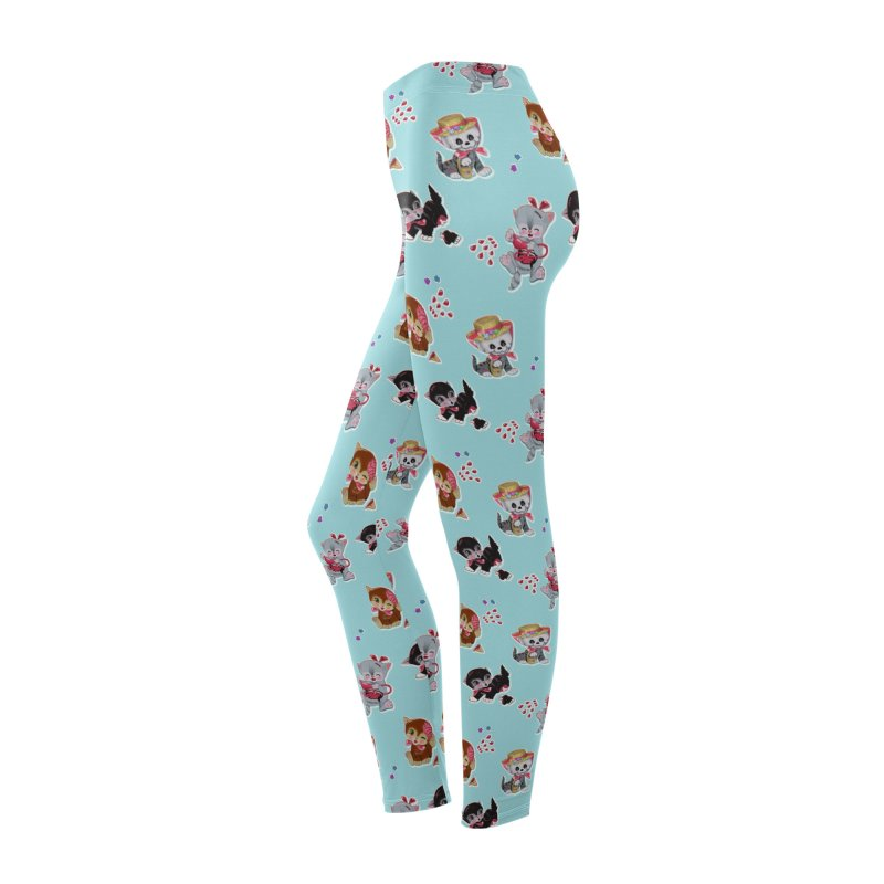 Zombie Cats Women's Bottoms by anion2's Artist Shop