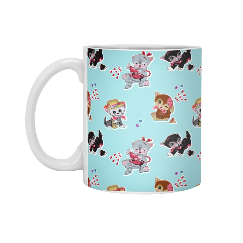 Zombie Cats Accessories Standard Mug by anion2's Artist Shop