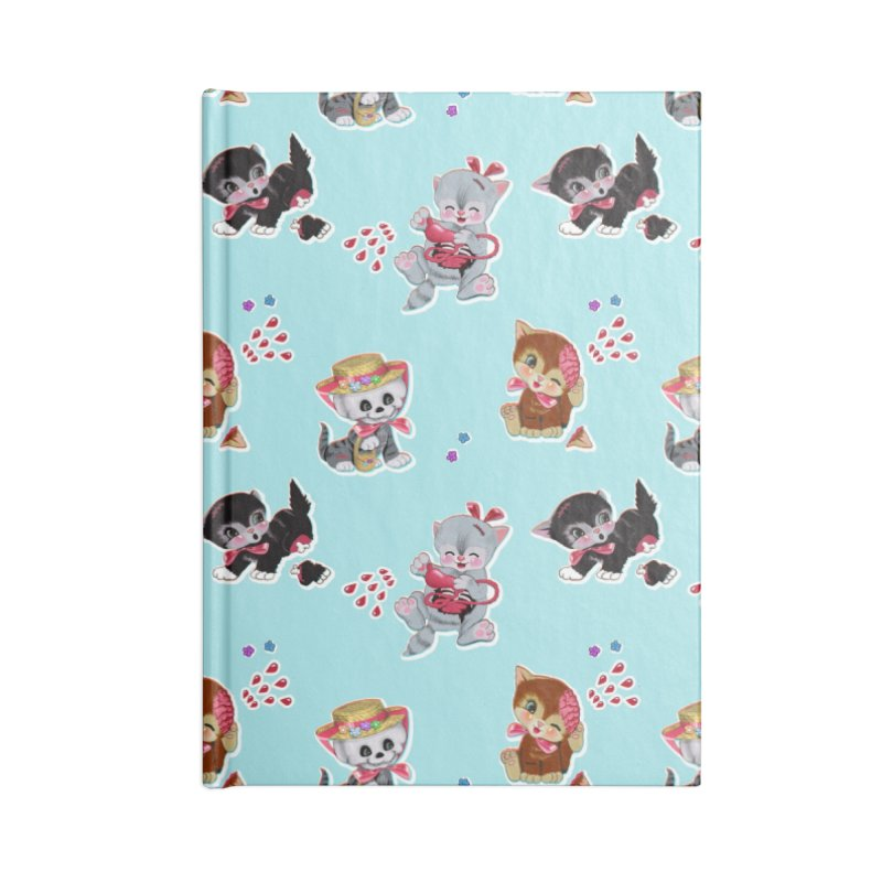 Zombie Cats Accessories Lined Journal Notebook by anion2's Artist Shop