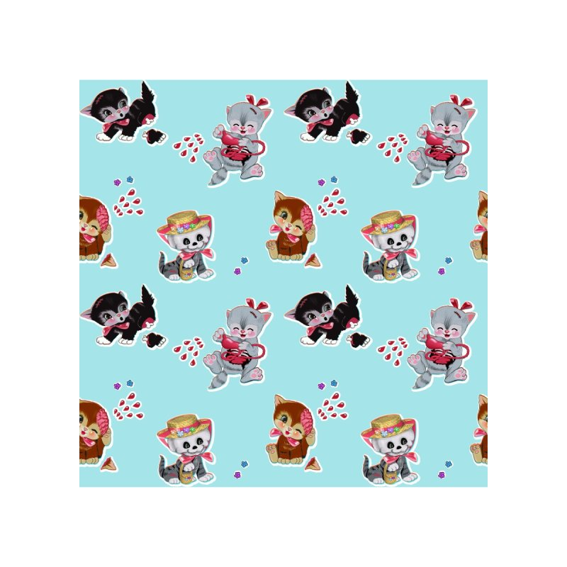 Zombie Cats Home Blanket by anion2's Artist Shop