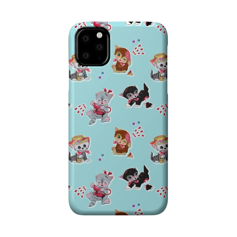 Zombie Cats Accessories Phone Case by anion2's Artist Shop