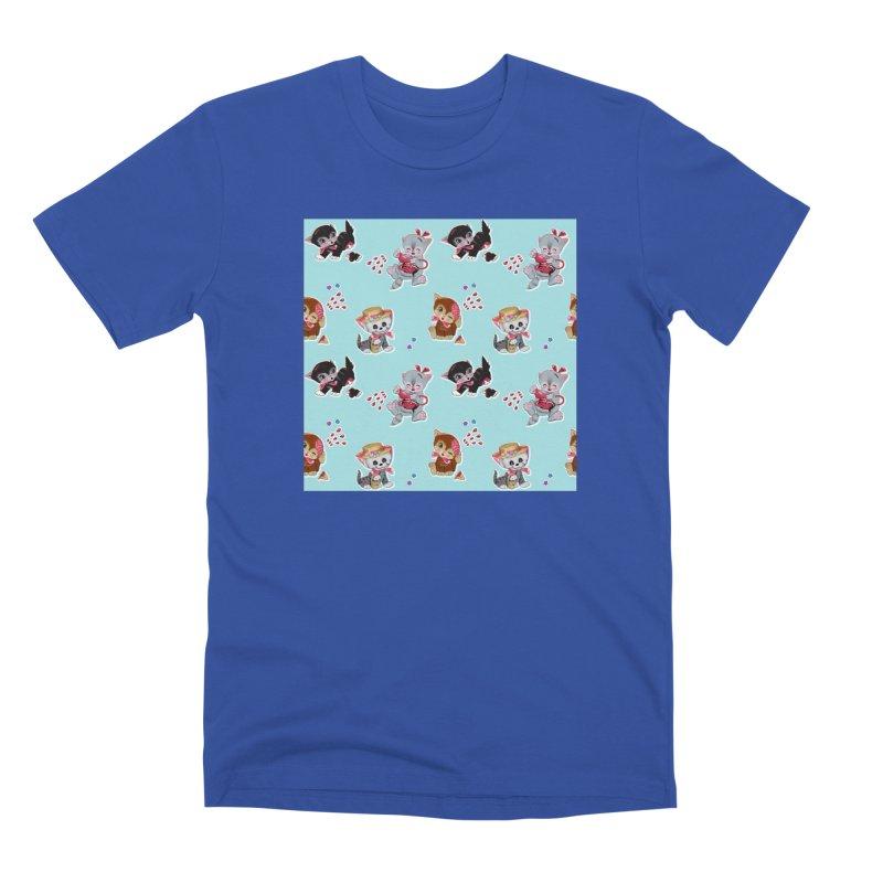 Zombie Cats Men's T-Shirt by anion2's Artist Shop