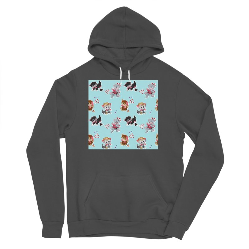 Zombie Cats Men's Pullover Hoody by anion2's Artist Shop