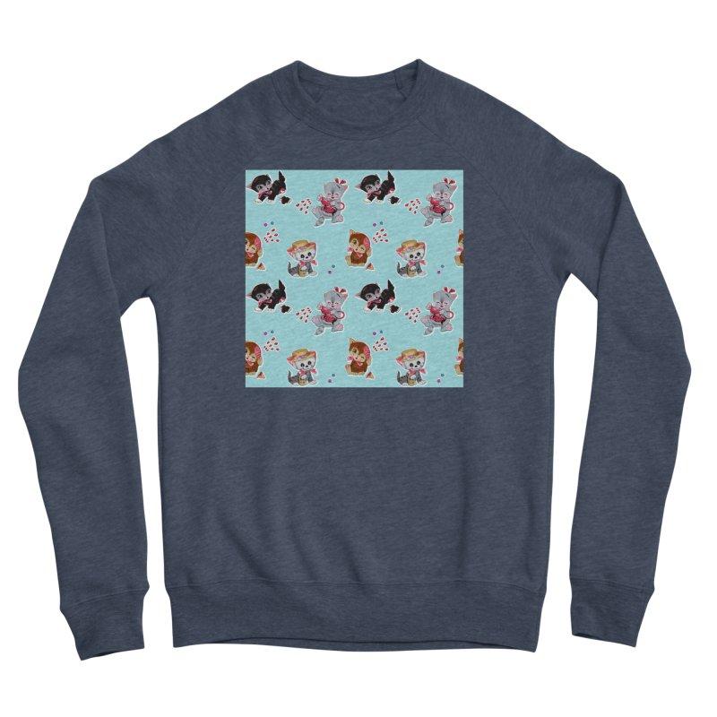 Zombie Cats Men's Sponge Fleece Sweatshirt by anion2's Artist Shop