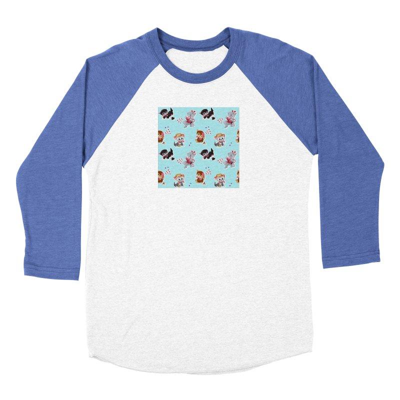 Zombie Cats Men's Baseball Triblend Longsleeve T-Shirt by anion2's Artist Shop