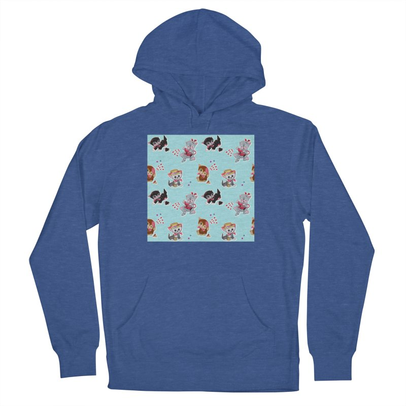 Zombie Cats Women's French Terry Pullover Hoody by anion2's Artist Shop