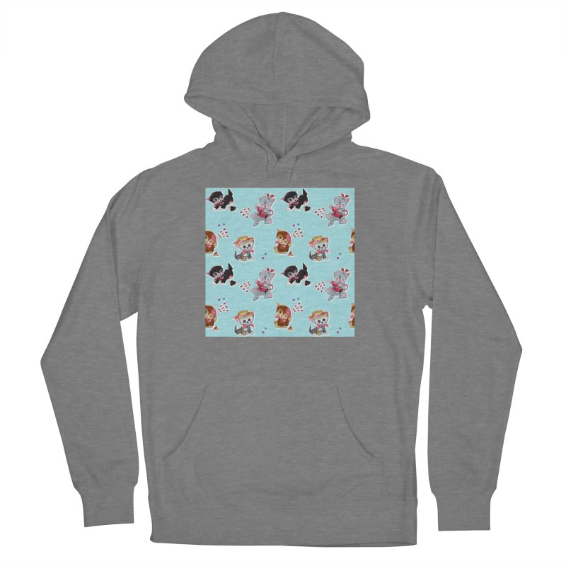 Zombie Cats Women's Pullover Hoody by anion2's Artist Shop