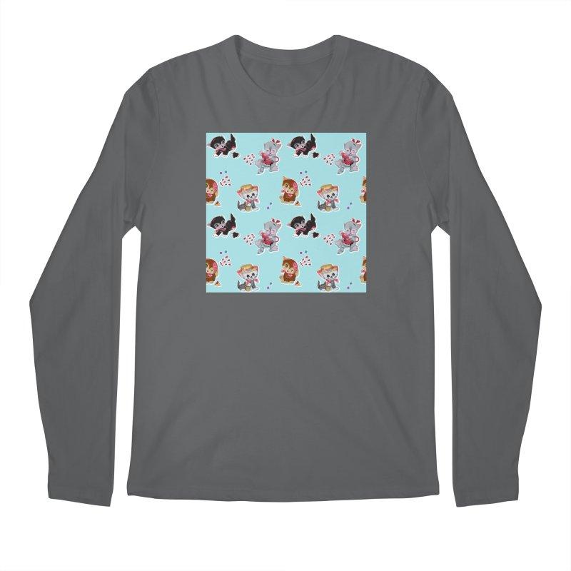 Zombie Cats Men's Longsleeve T-Shirt by anion2's Artist Shop
