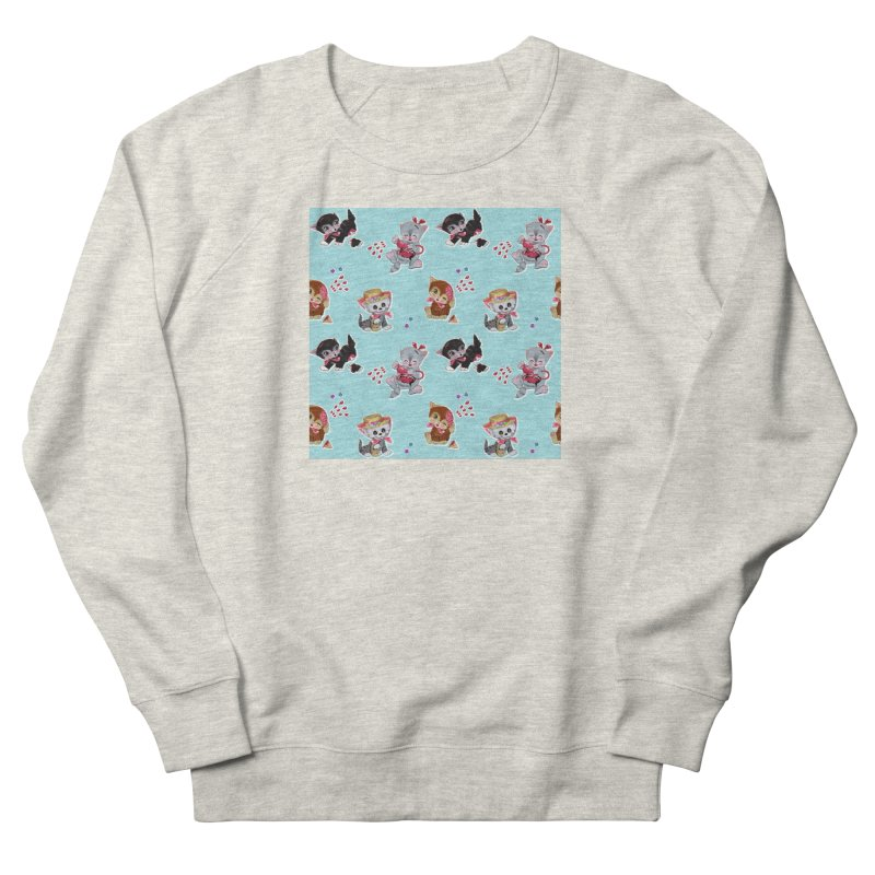 Zombie Cats Women's French Terry Sweatshirt by anion2's Artist Shop