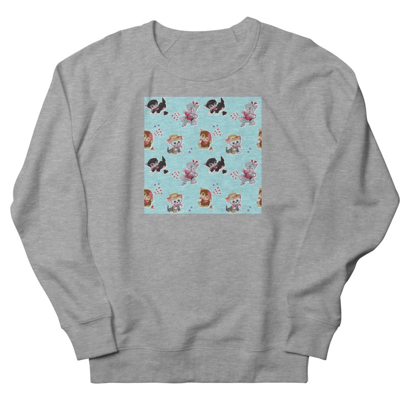 Zombie Cats Men's French Terry Sweatshirt by anion2's Artist Shop