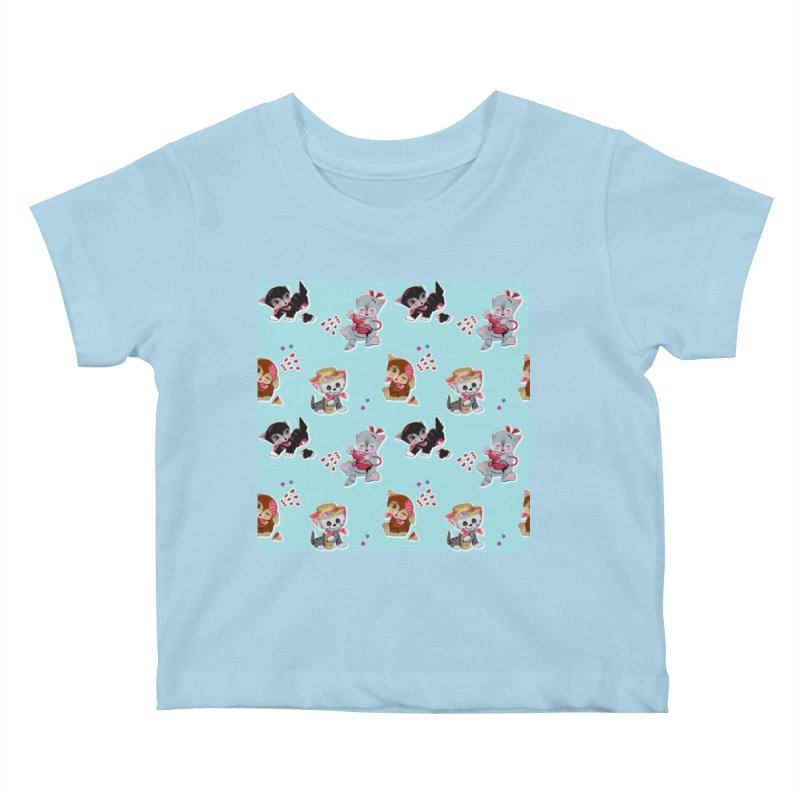 Zombie Cats Kids Baby T-Shirt by anion2's Artist Shop