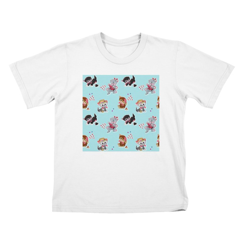 Zombie Cats Kids T-Shirt by anion2's Artist Shop