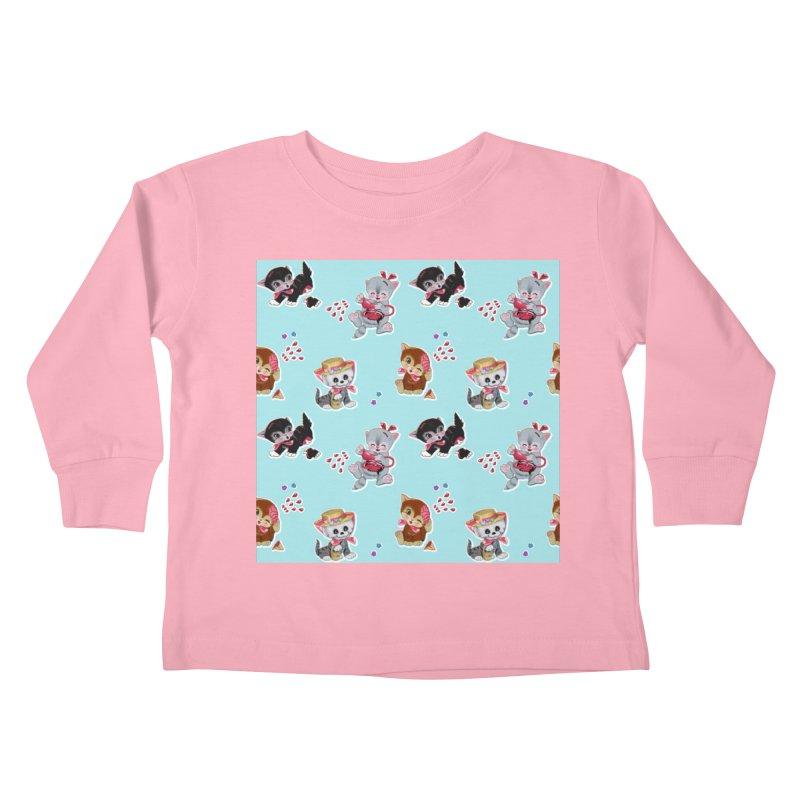 Zombie Cats Kids Toddler Longsleeve T-Shirt by anion2's Artist Shop