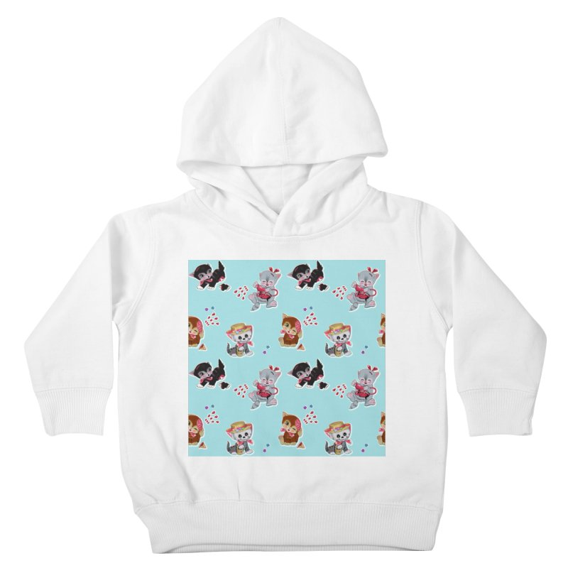 Zombie Cats Kids Toddler Pullover Hoody by anion2's Artist Shop